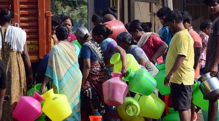 चेन्नई में सूखे का असर, जलाशयों में पानी निम्नतम स्तर पर