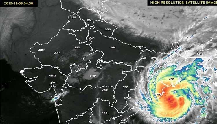 चक्रवाती तूफान बुलबुल ने ले ली भारत और बांग्लादेश में ली 24 लोगों की जान