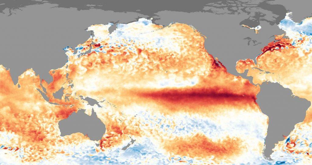 जलवायु परिवर्तन के साथ बढ़ रहा एल-निनो प्रभाव