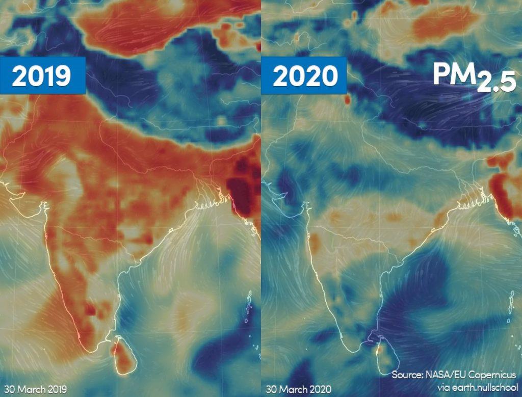 कोरोना: प्रदूषित शहरों में ख़तरा अधिक
