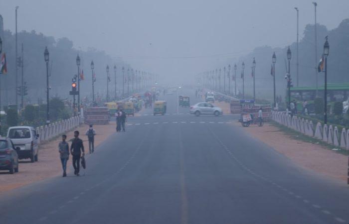 दिल्ली: रिकॉर्ड गिरावट के बाद वायु प्रदूषण में सबसे तेज़ उछाल