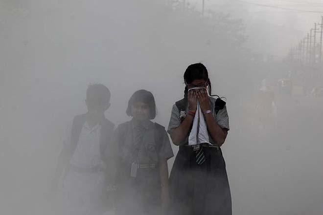 वायु प्रदूषण से घटती है ज़िंदगी 5 साल: रिपोर्ट