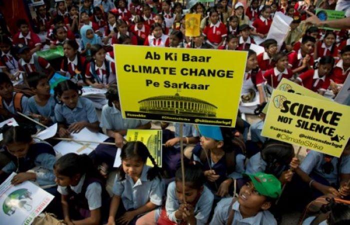 जलवायु परिवर्तन की लगाम खींचने में बच्चे न सिर्फ़ सक्रिय, बल्कि सक्षम भी