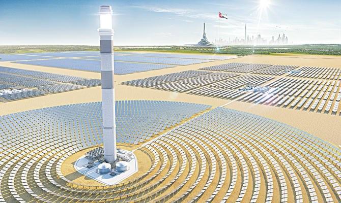 UAE और सऊदी अरब में सौर ऊर्जा भारत से सस्ती