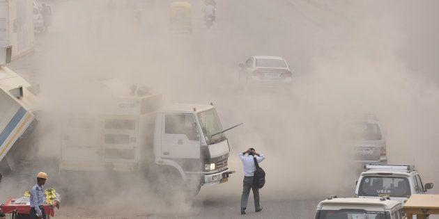 हर मिनट तीन लोग वायु प्रदूषण से मरे पिछले साल भारत में!
