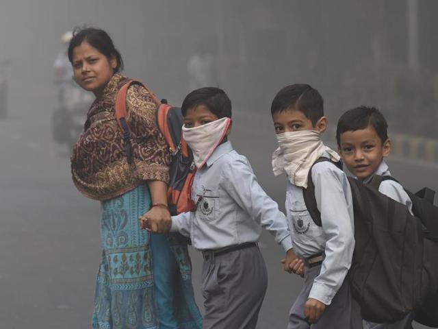 वायु प्रदूषण: इमरजेंसी में भर्ती बच्चों की संख्या 30% बढ़ी