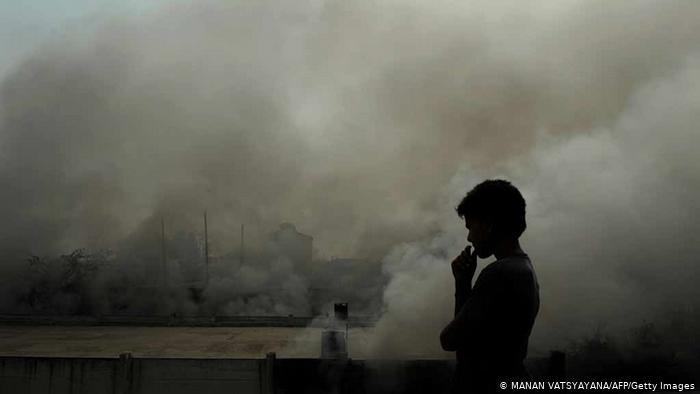 गाज़ियाबाद दो हफ्ते में 7 बार बना भारत का सबसे प्रदूषित शहर